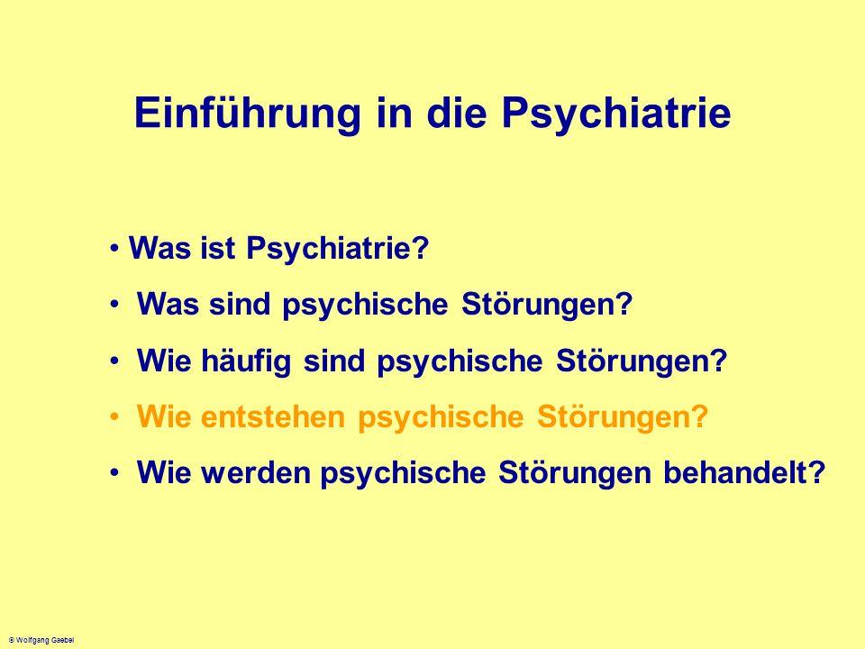 Einführung in die Psychiatrie