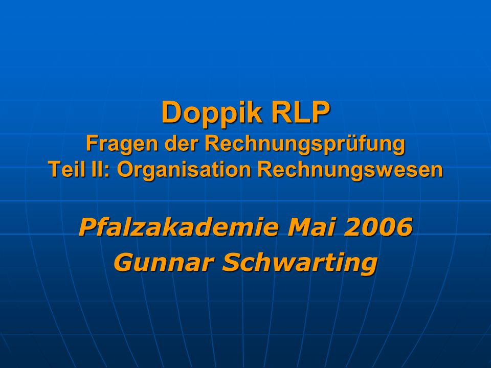 Pfalzakademie Mai 2006 Gunnar Schwarting