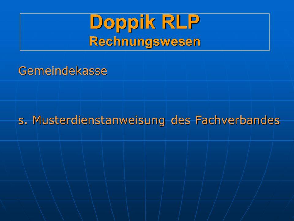 Doppik RLP Rechnungswesen