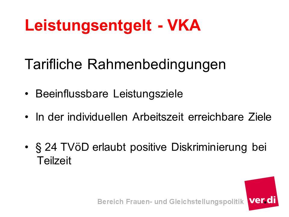 Leistungsentgelt - VKA