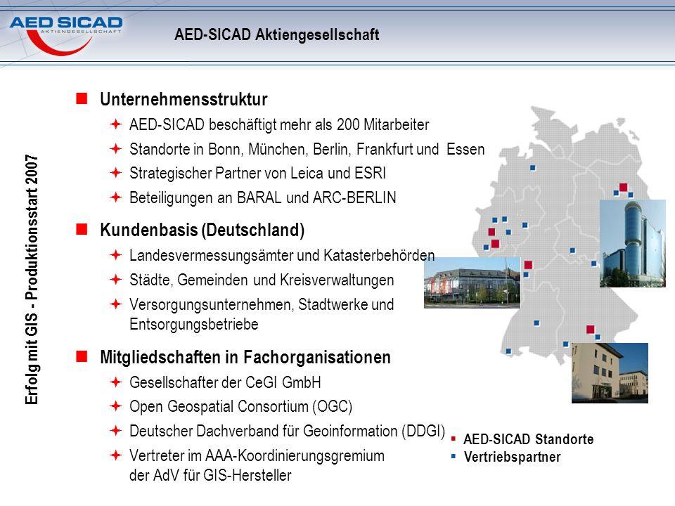 AED-SICAD Aktiengesellschaft