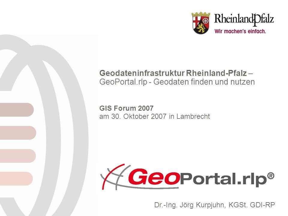 Geodateninfrastruktur Rheinland-Pfalz –