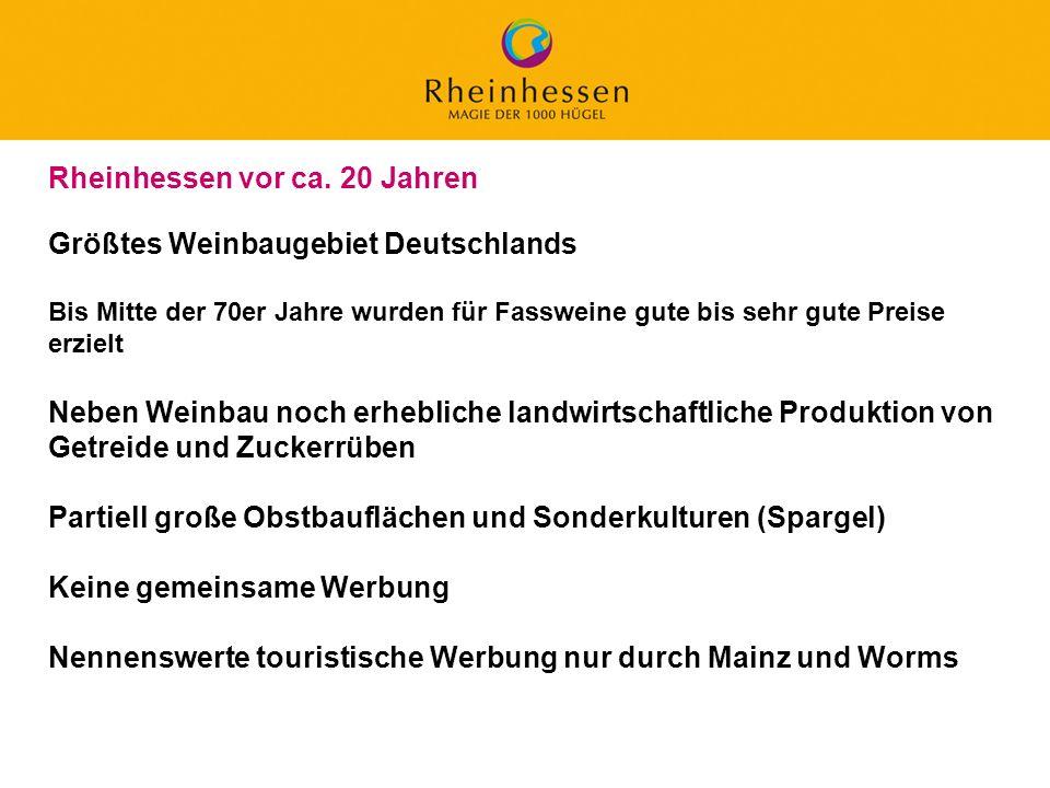 Rheinhessen vor ca. 20 Jahren