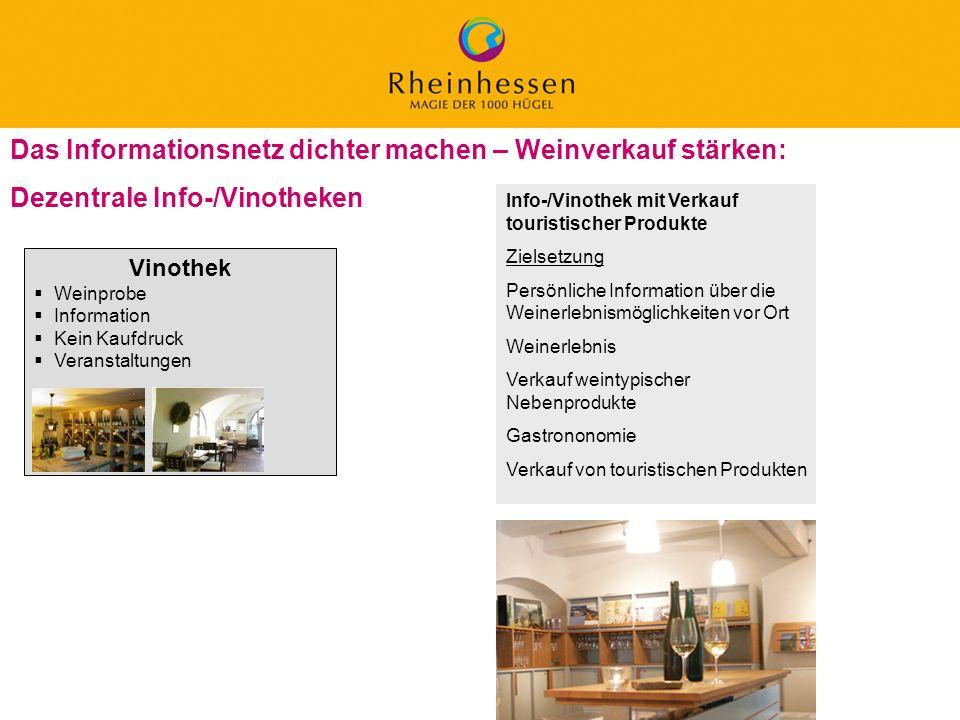 Das Informationsnetz dichter machen – Weinverkauf stärken: