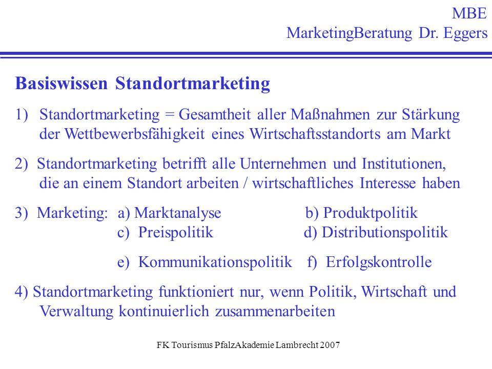 FK Tourismus PfalzAkademie Lambrecht 2007