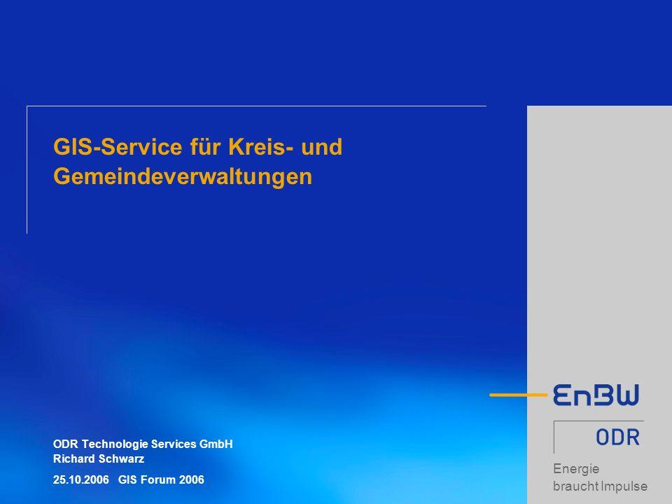 GIS-Service für Kreis- und Gemeindeverwaltungen