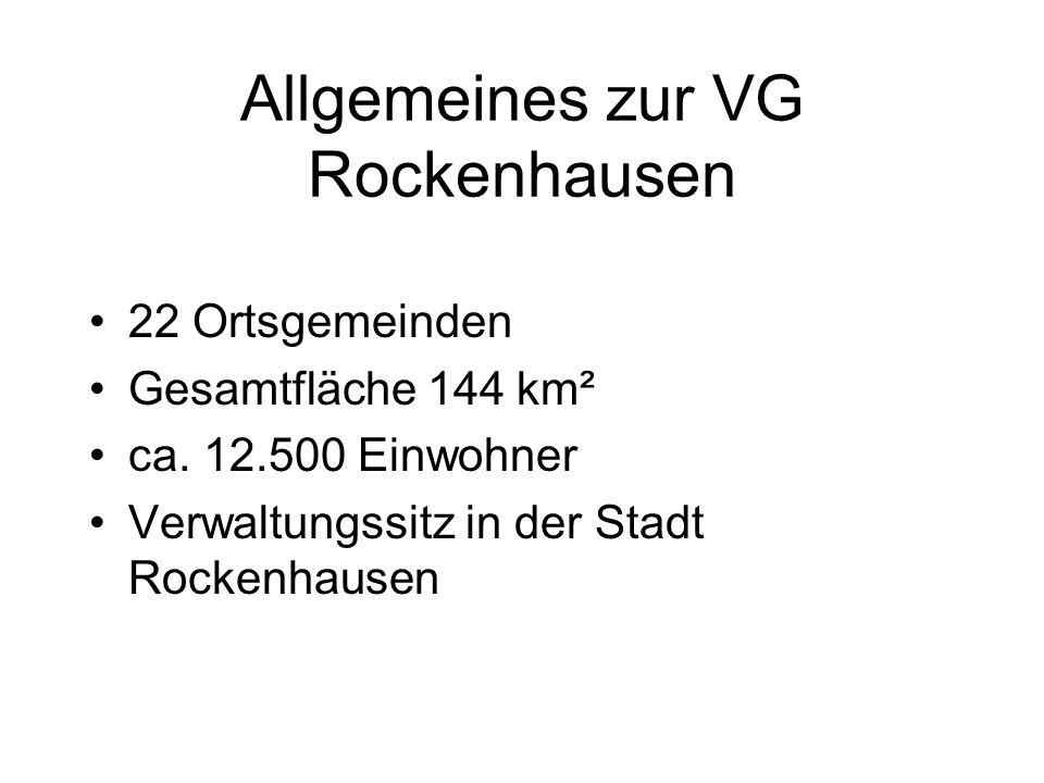 Allgemeines zur VG Rockenhausen