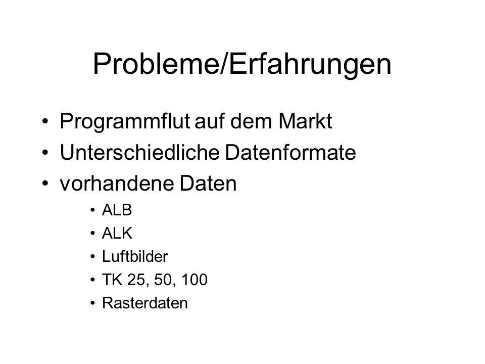 Probleme/Erfahrungen