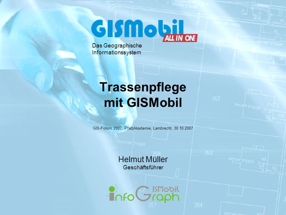 Trassenpflege mit GISMobil
