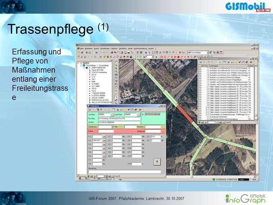 GIS-Forum 2007, PfalzAkademie, Lambrecht, 30.10.2007