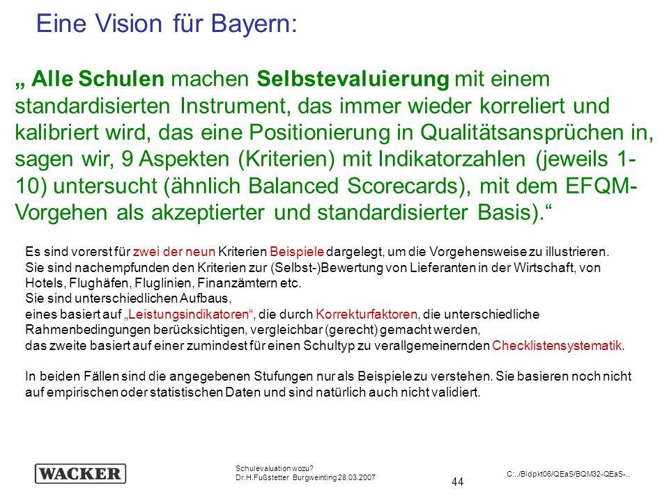 Eine Vision für Bayern: