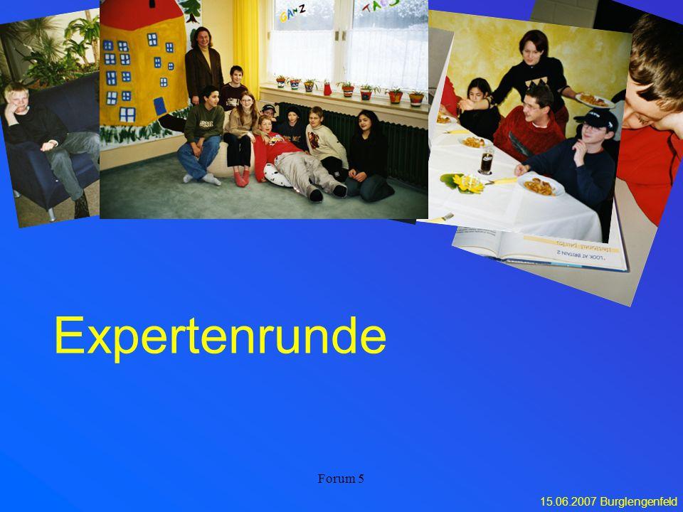 Expertenrunde Forum 5
