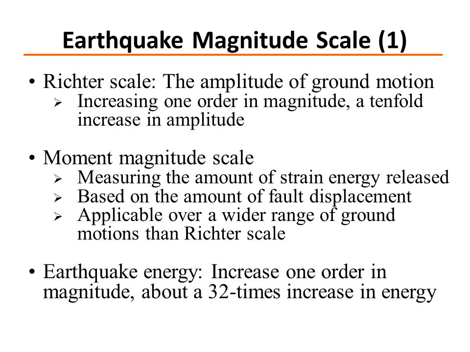Earthquake Magnitude Scale (1)