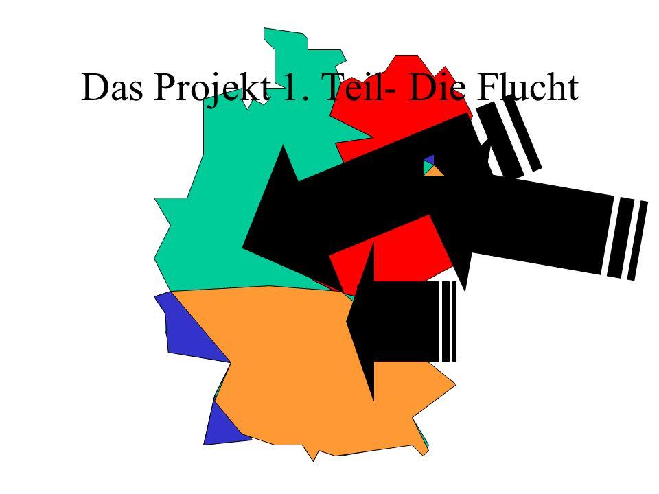 Das Projekt 1. Teil- Die Flucht
