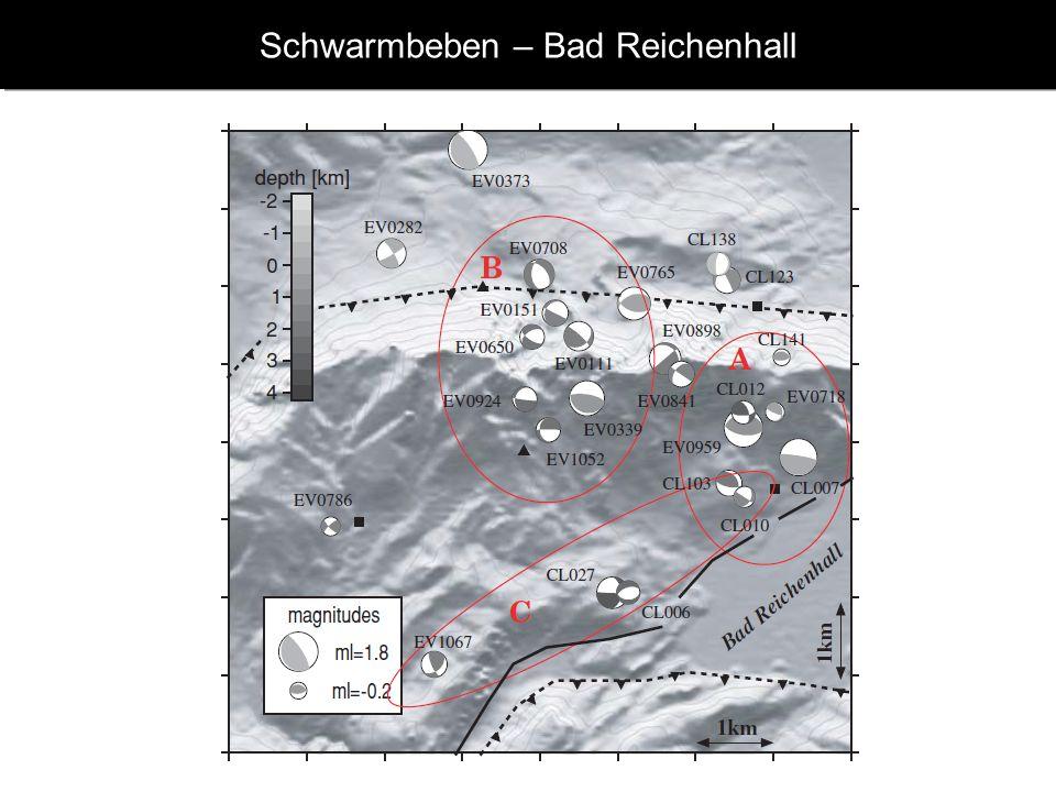 Schwarmbeben – Bad Reichenhall