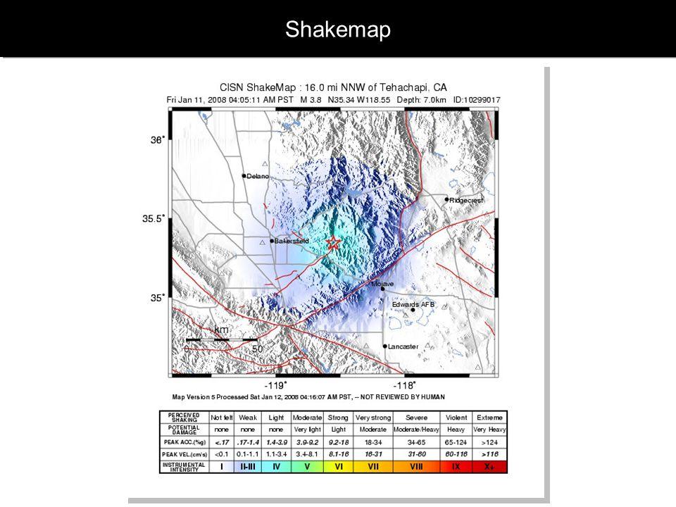Shakemap