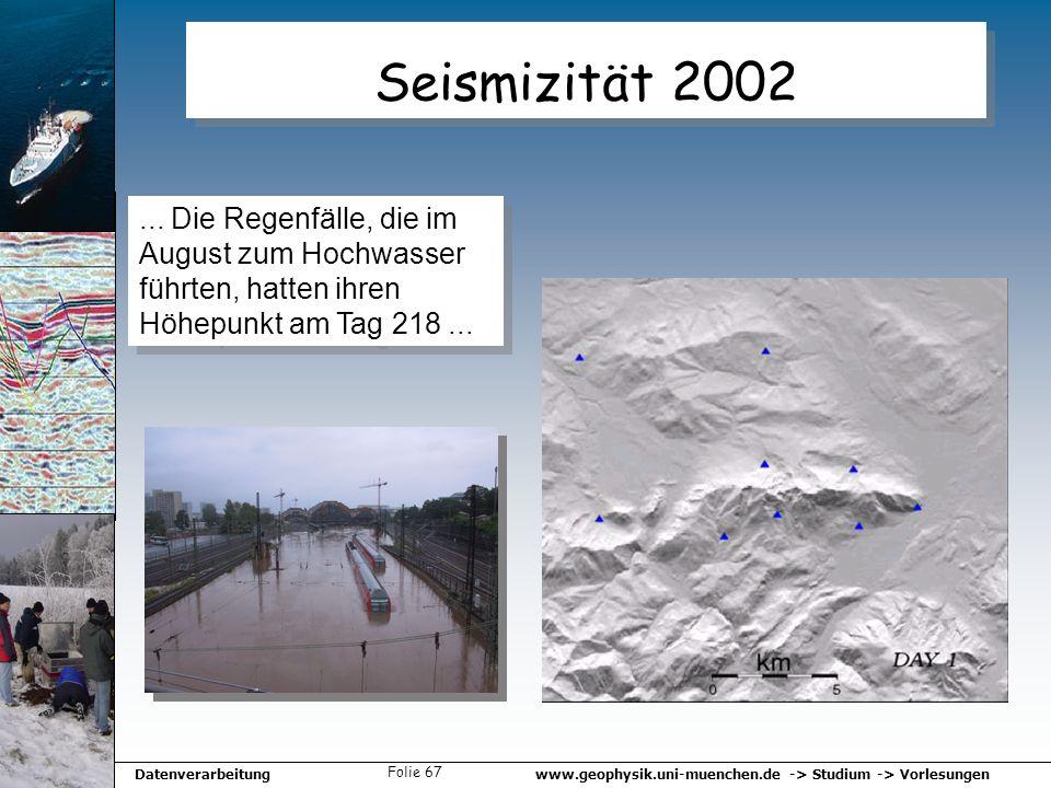 Seismizität 2002 ...