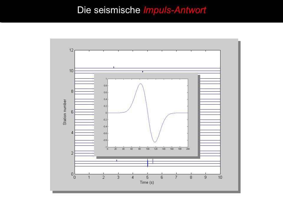 Die seismische Impuls-Antwort