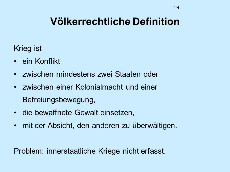 Völkerrechtliche Definition
