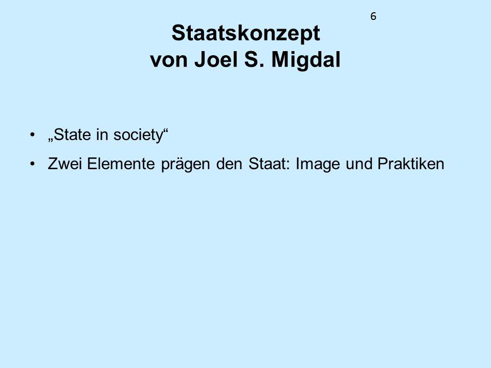 Staatskonzept von Joel S. Migdal
