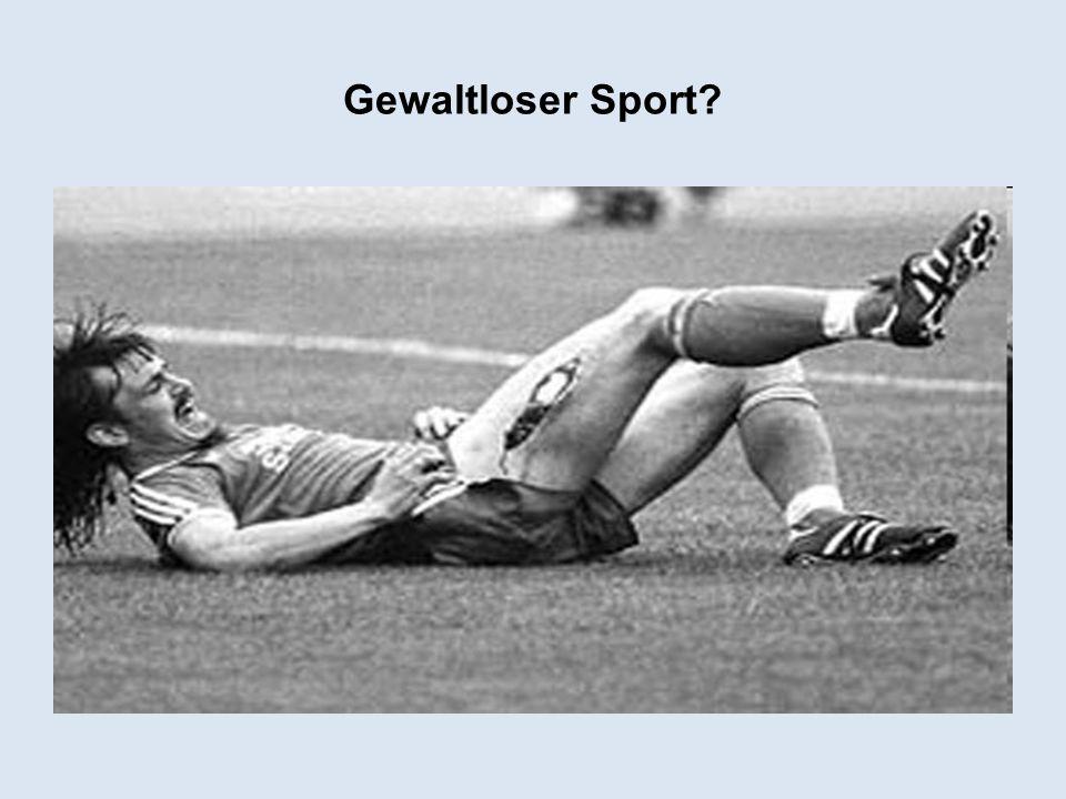 Gewaltloser Sport