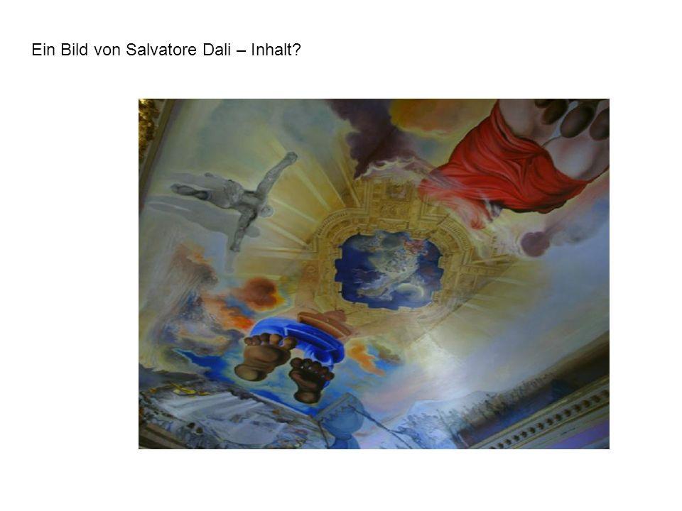 Ein Bild von Salvatore Dali – Inhalt