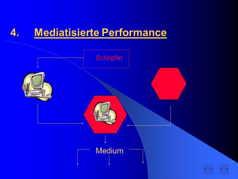 4. Mediatisierte Performance