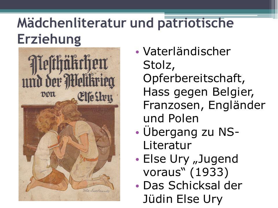 Mädchenliteratur und patriotische Erziehung