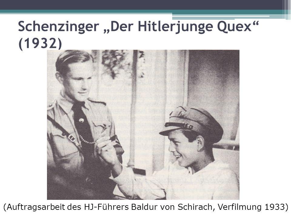 """Schenzinger """"Der Hitlerjunge Quex (1932)"""