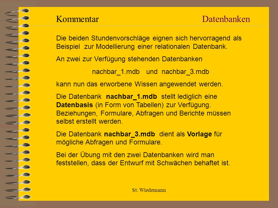 nachbar_1.mdb und nachbar_3.mdb