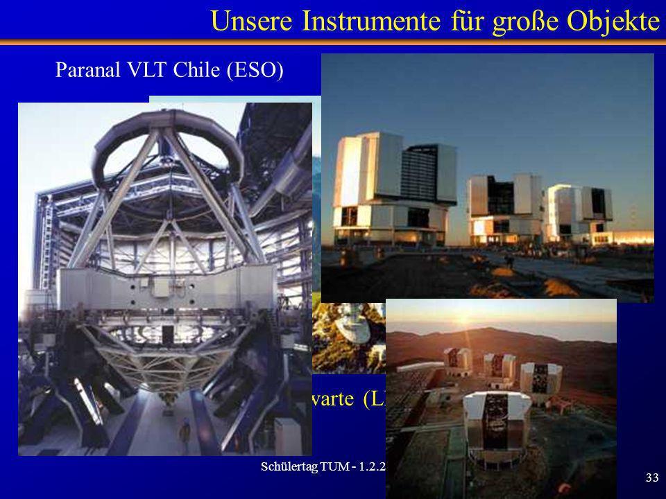 Unsere Instrumente für große Objekte