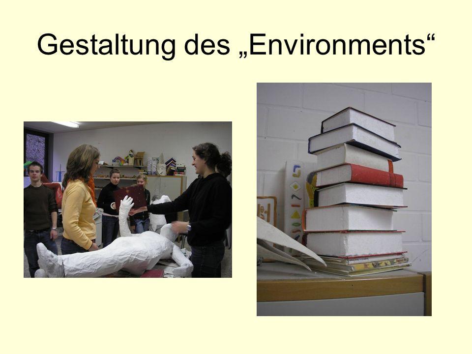 "Gestaltung des ""Environments"