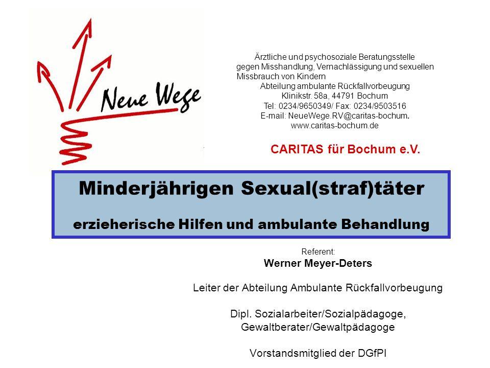 Minderjährigen Sexual(straf)täter