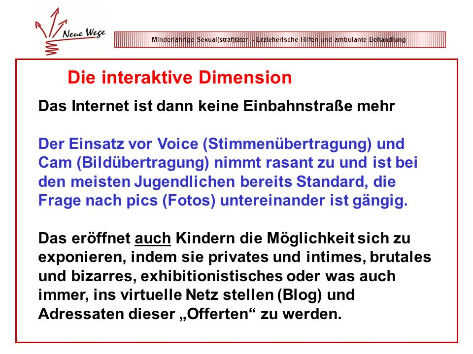Die interaktive Dimension
