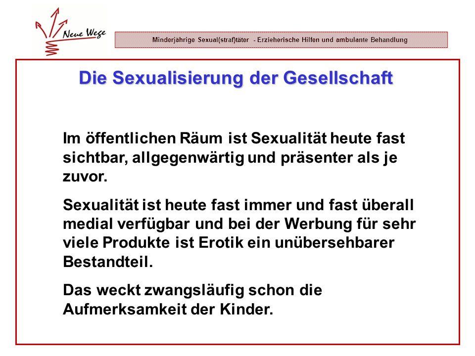 Die Sexualisierung der Gesellschaft