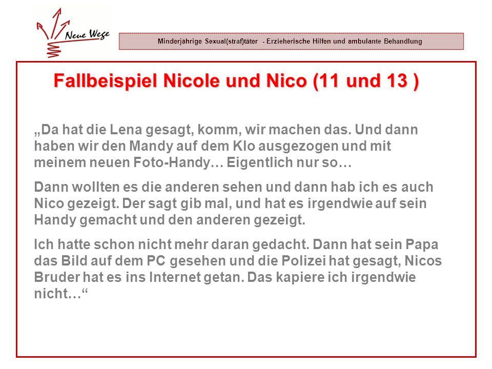 Fallbeispiel Nicole und Nico (11 und 13 )