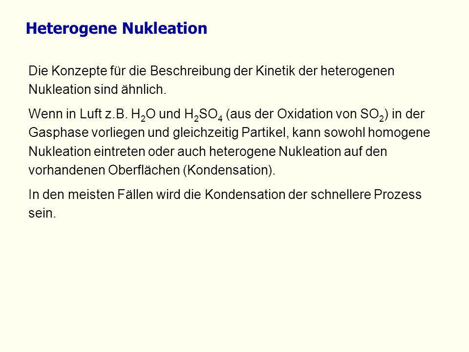 Heterogene Nukleation