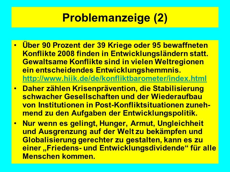 Problemanzeige (2)