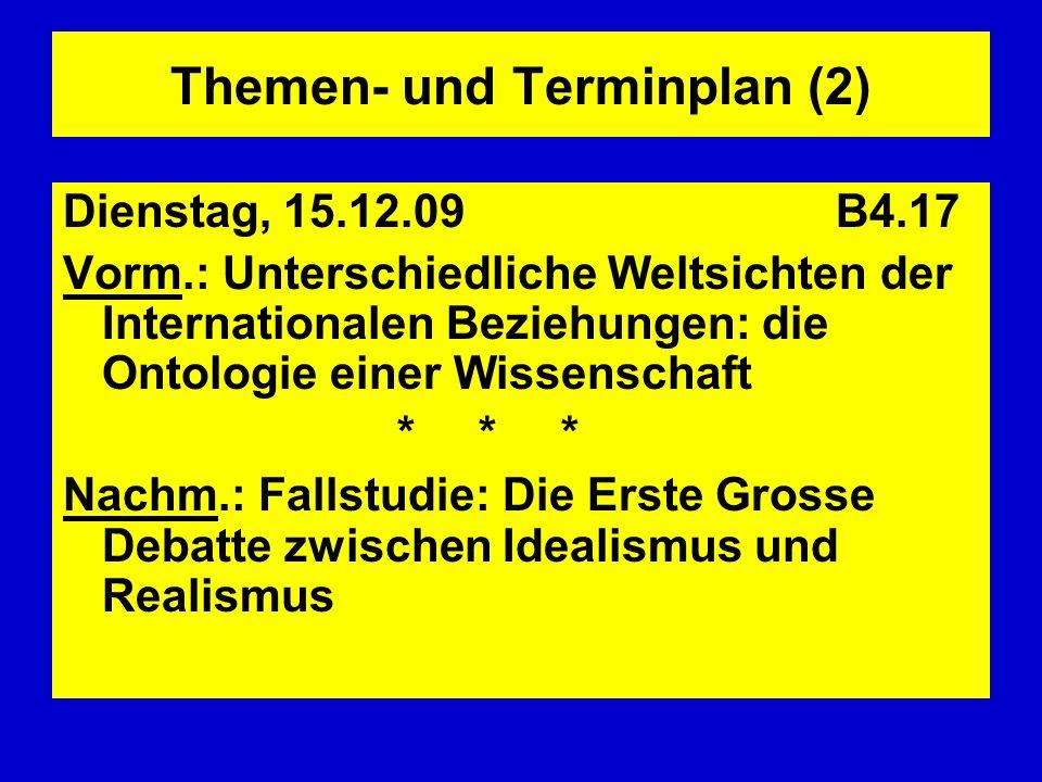 Themen- und Terminplan (2)