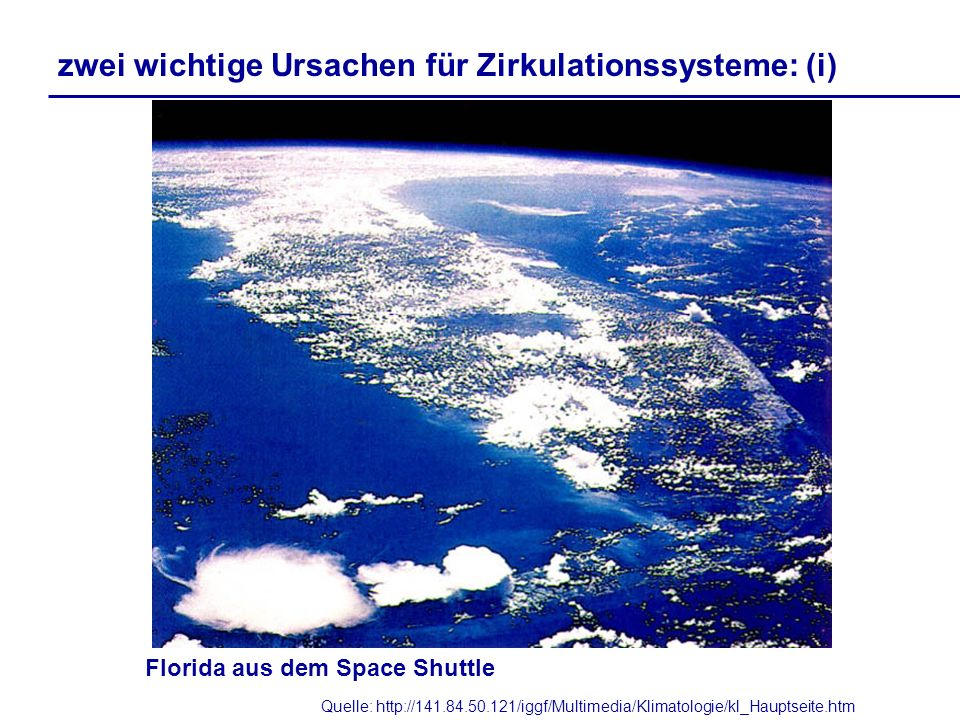 Florida aus dem Space Shuttle