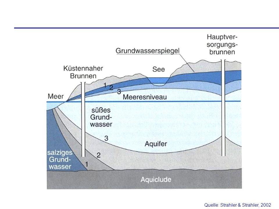 Quelle: Strahler & Strahler, 2002