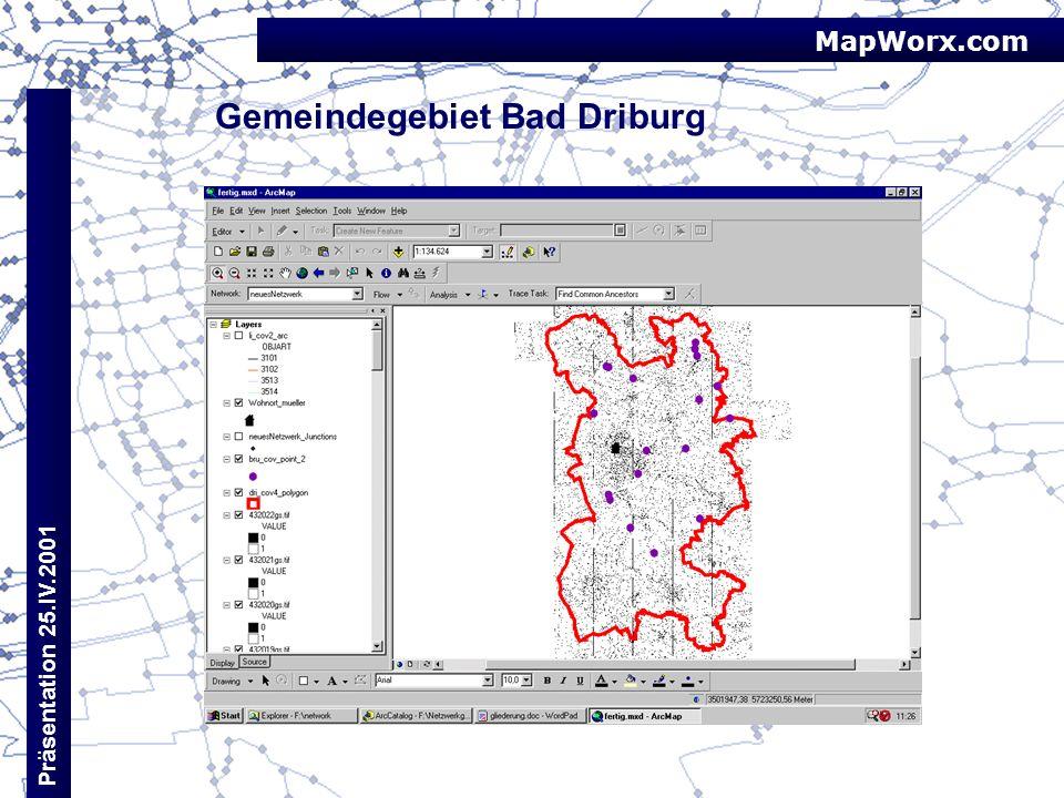 Gemeindegebiet Bad Driburg