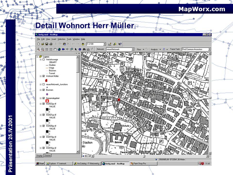 Detail Wohnort Herr Müller