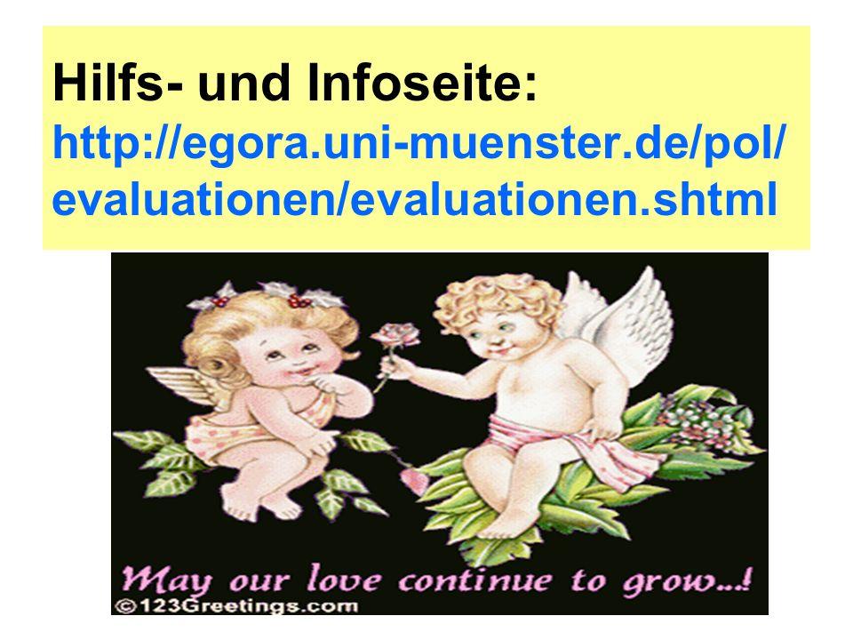 Hilfs- und Infoseite: http://egora. uni-muenster