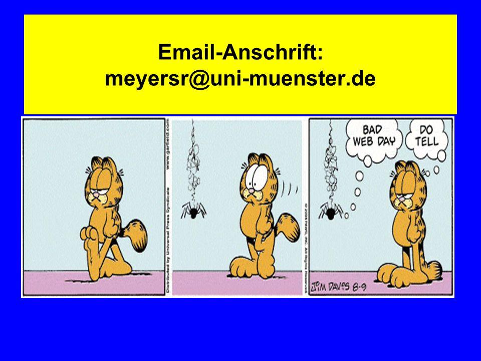 Email-Anschrift: meyersr@uni-muenster.de