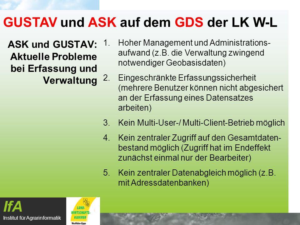 ASK und GUSTAV: Aktuelle Probleme bei Erfassung und Verwaltung