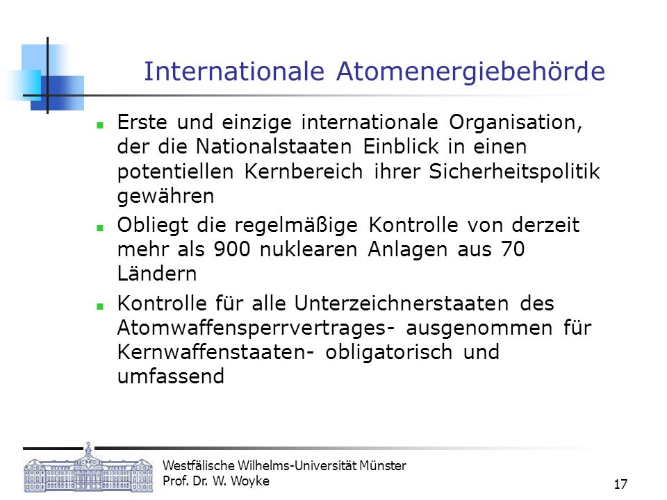 Internationale Atomenergiebehörde