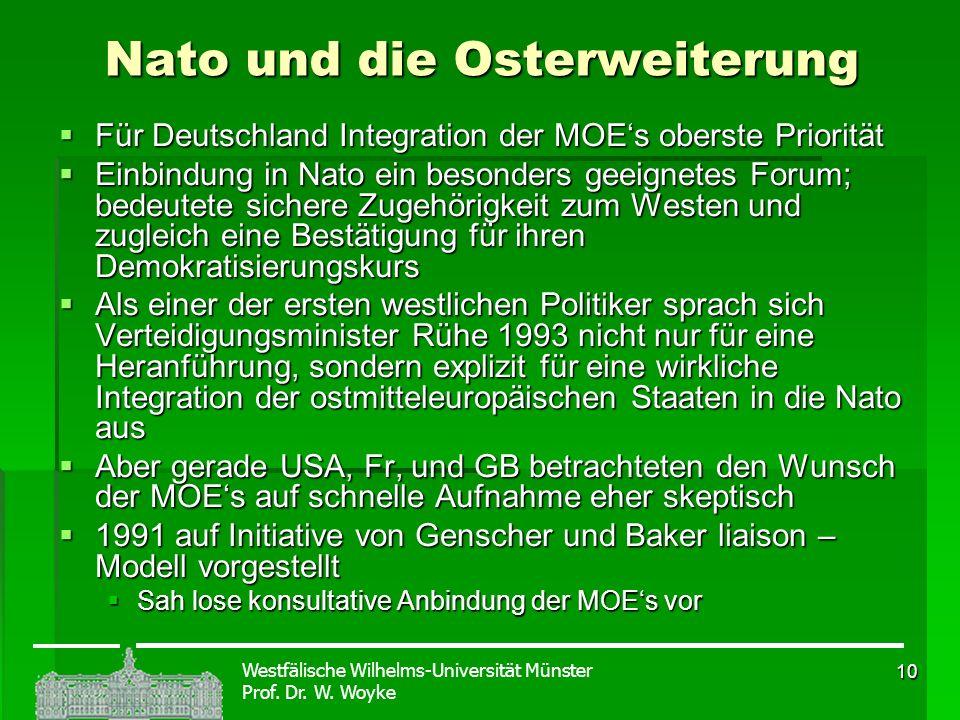 Nato und die Osterweiterung