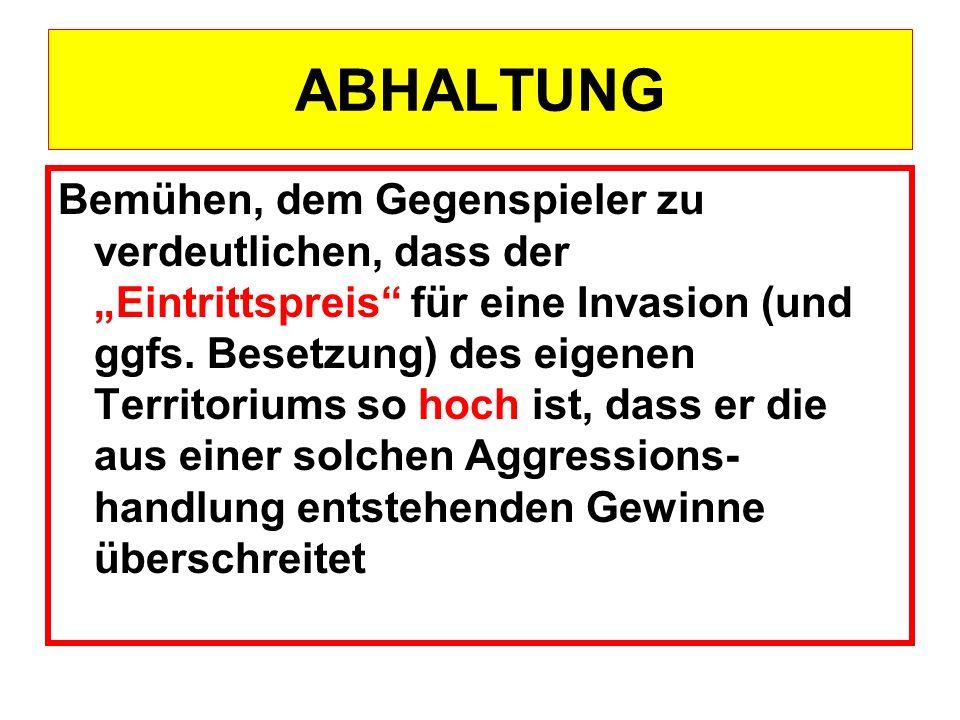 ABHALTUNG