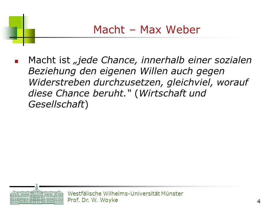 Macht – Max Weber